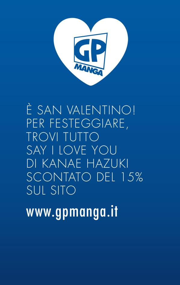 gp manga offerta say I love you