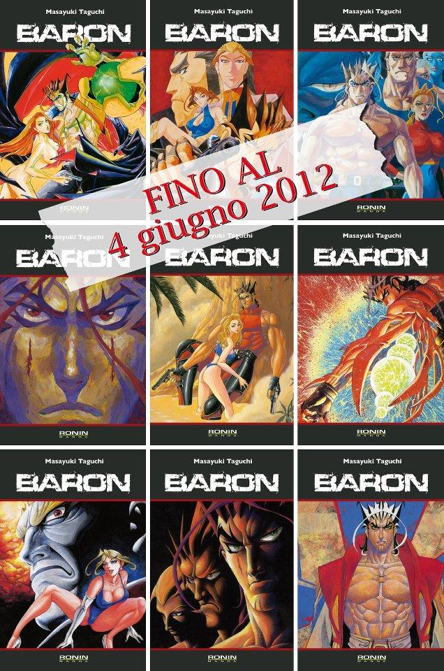 Baron offerta serie completa ronin manga