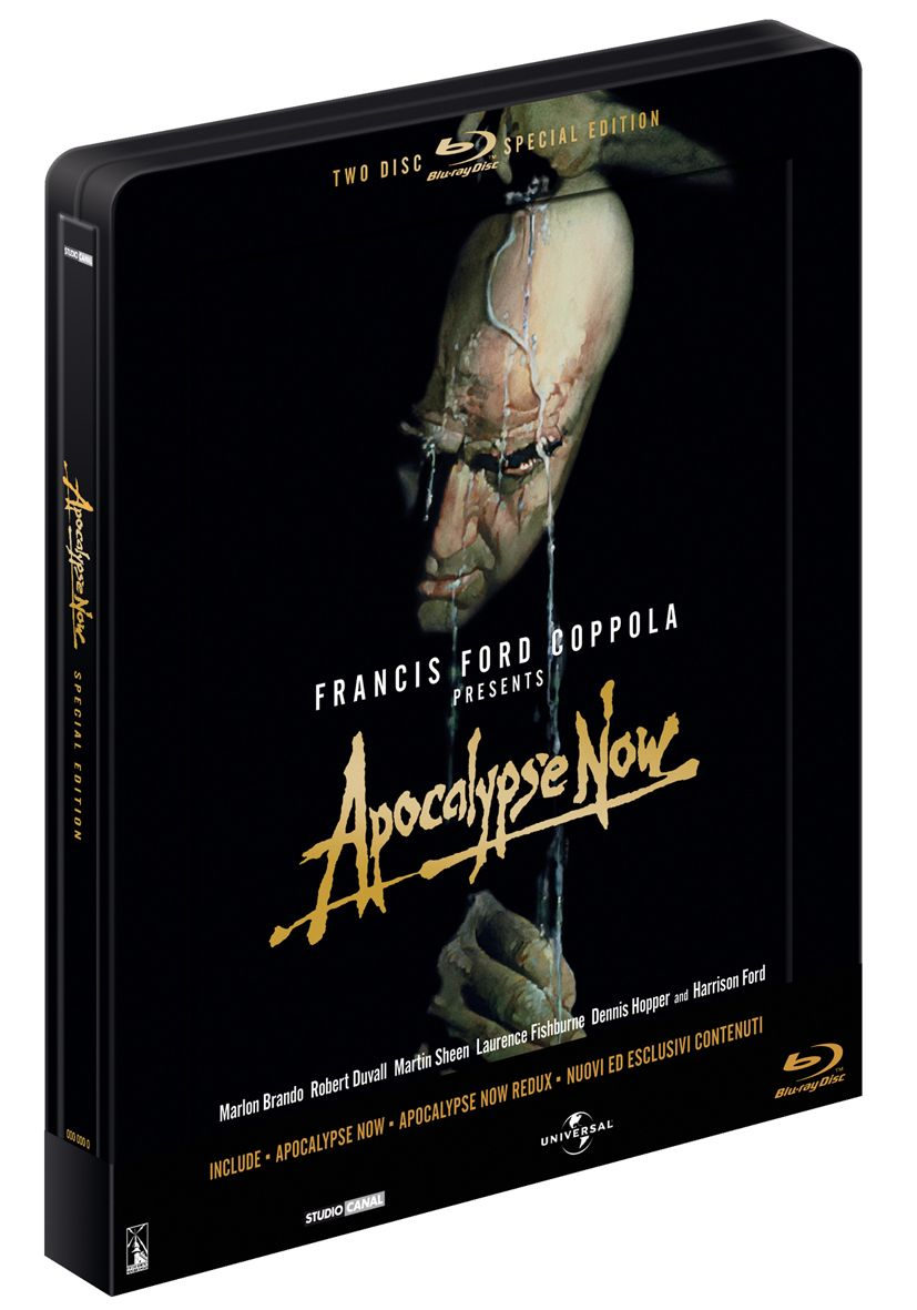 Apocalypse Now Blu-Ray Copertina steelbook