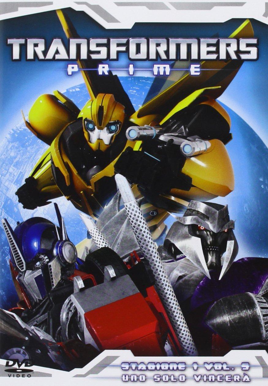 transformers prime 5 dvd