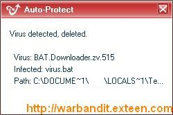Kingsoft Virus Detected
