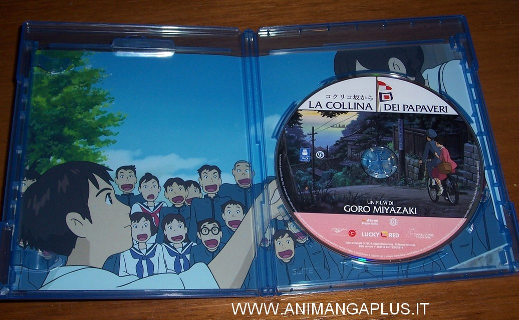 Collina dei papaveri blu-ray packaging