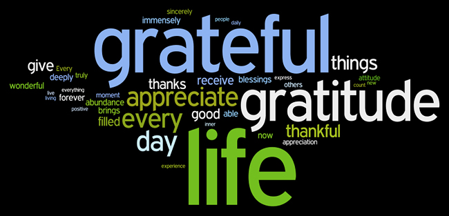 gratitude affirmations wordle