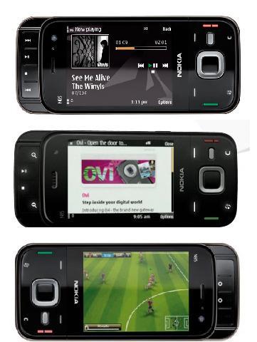 Características de teléfono celular Nokia N95