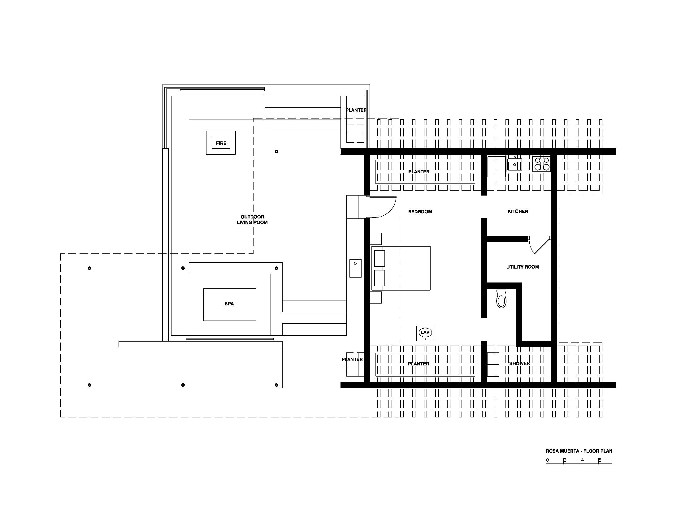 Rosa Muerta - Robert Stone, arquitectura, casas
