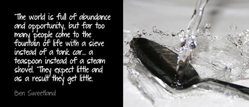 abundance quotation
