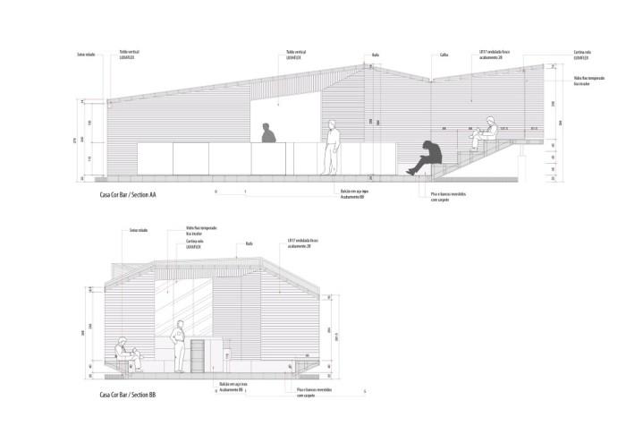 Casa Cor Bar - BCMF Arquitetos