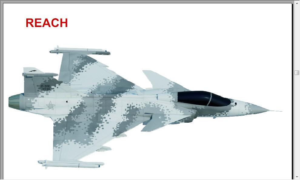 المقاتله Saab Gripen نظره جديده