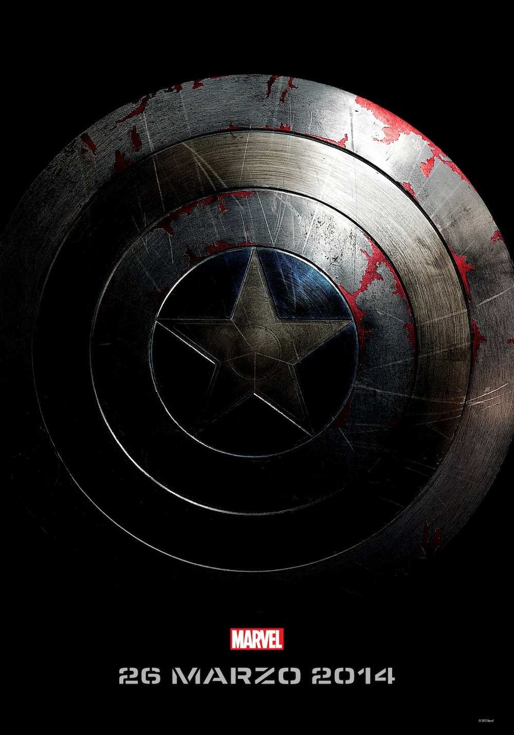 captain america winter soldier locandina italiana