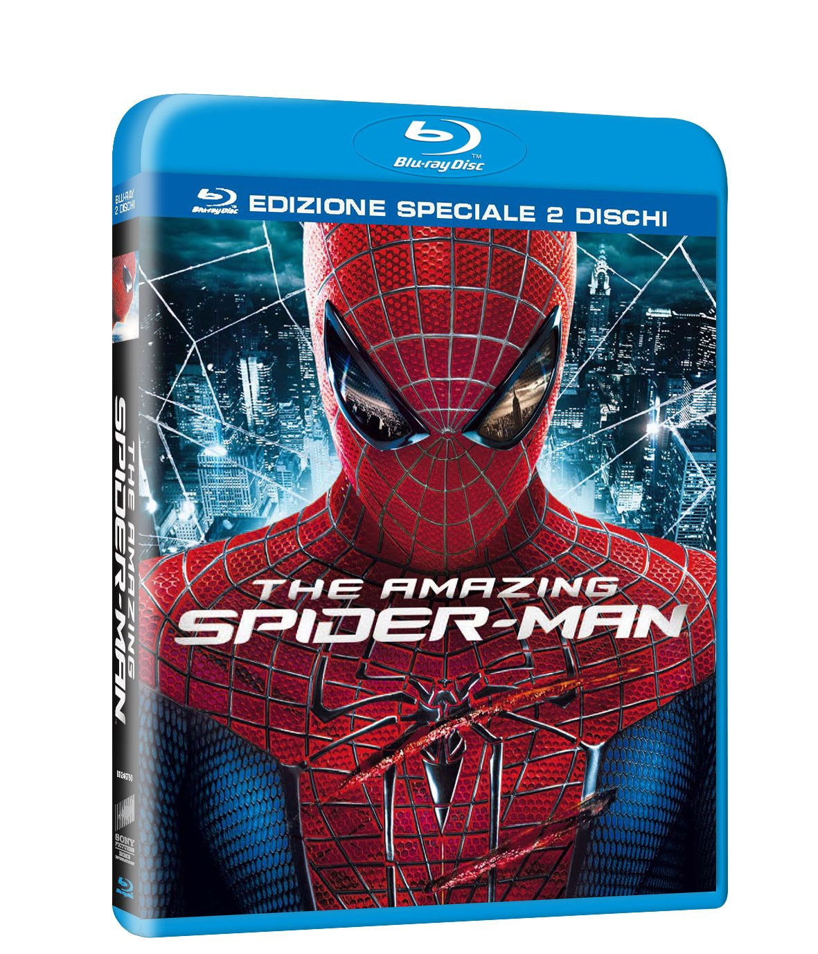 Amazing Spider-Man Blu-Ray cover