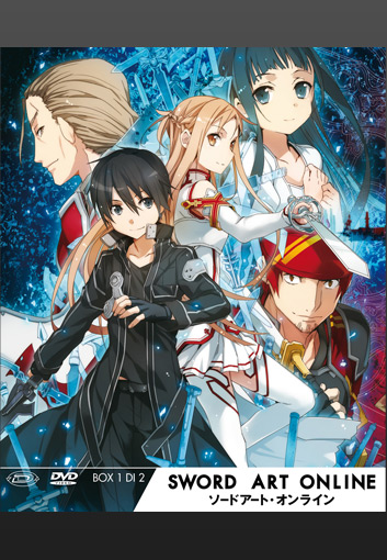 sword art online dvd box