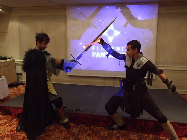 Scontro tra il cavaliere del Trono di spade e il sith di star wars
