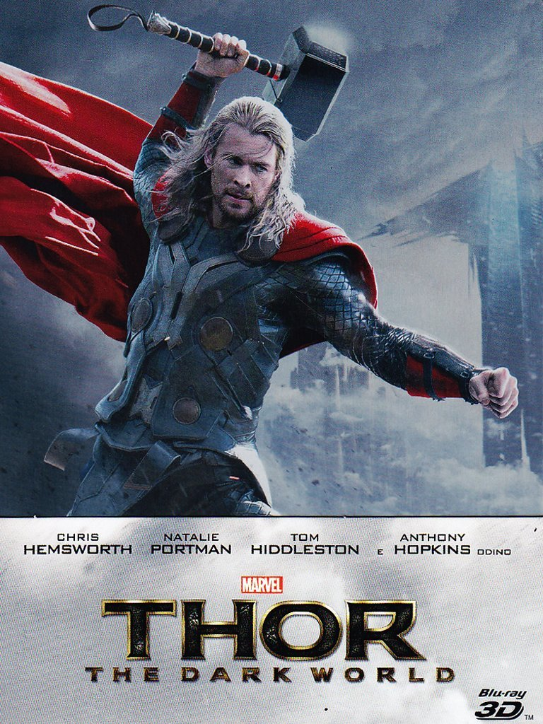 Thor The Dark World: Blu-Ray Limited Steelbook Edition