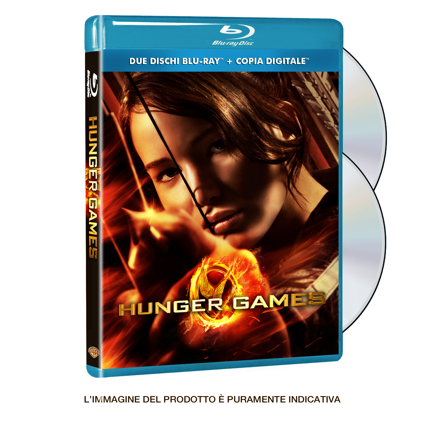 Hunger games blu-ray