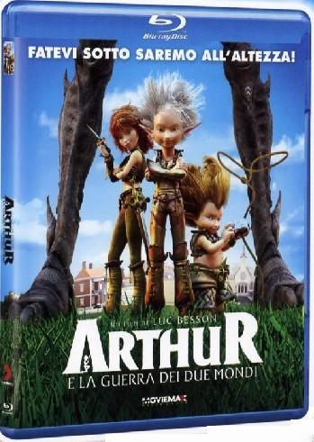 Arthur e la guerra dei due mondi Blu-ray