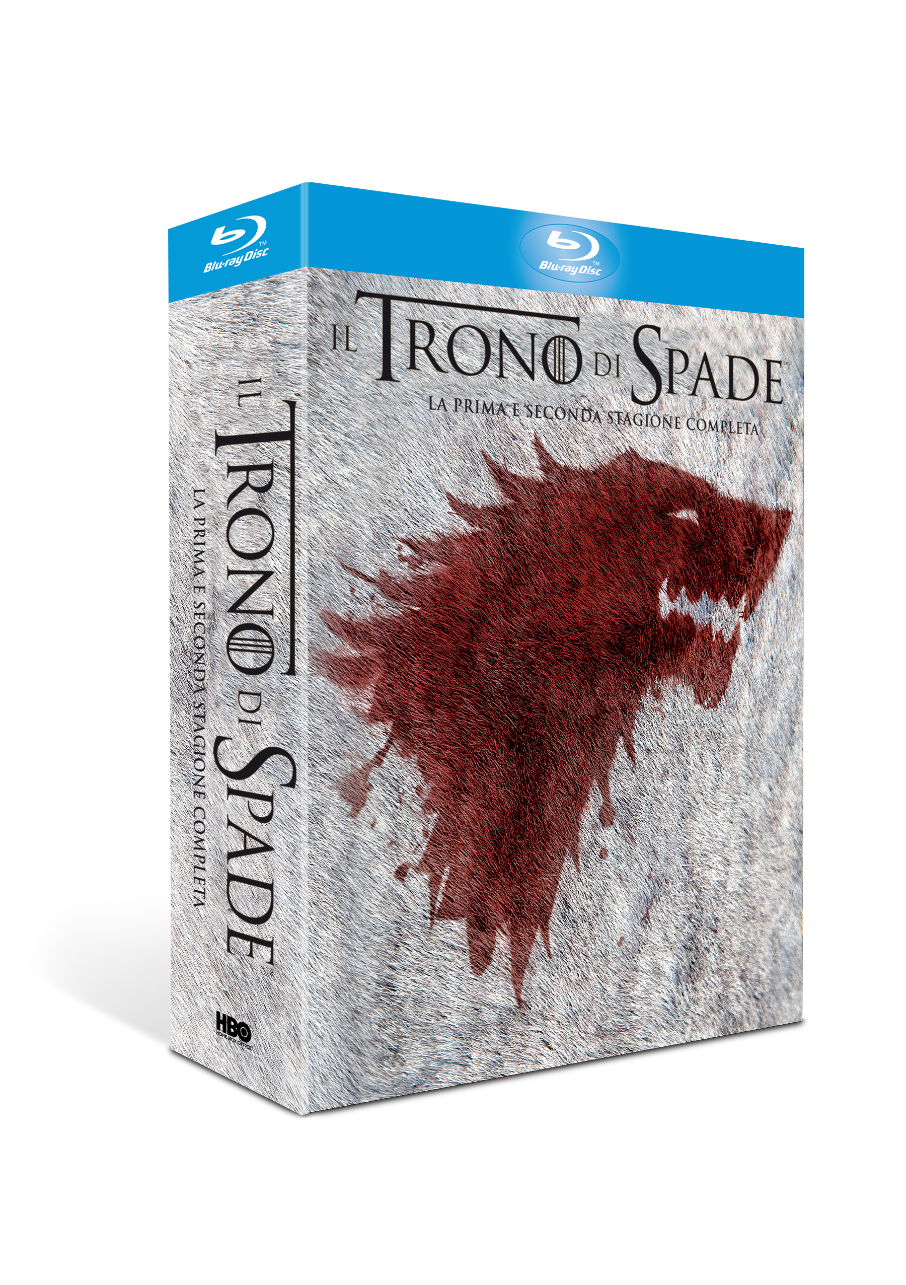 trono di spade stagione 1 e 2 cofanetto blu-ray limited edition