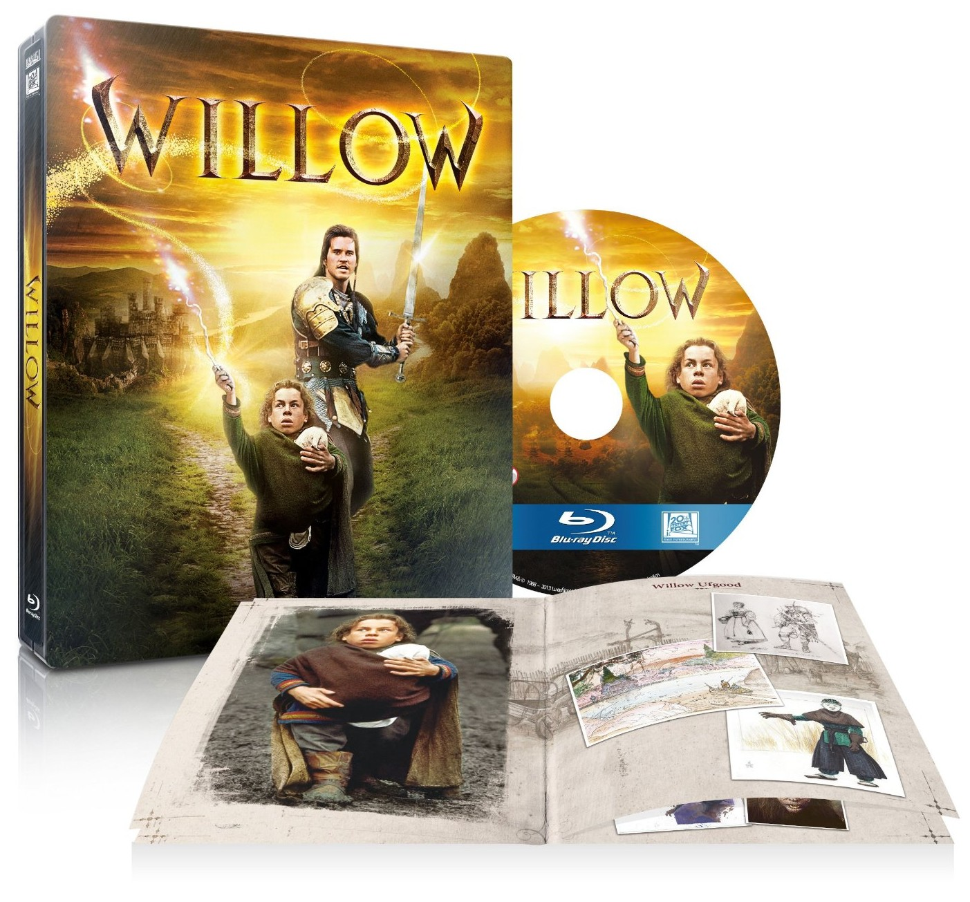 Willow steelbook amazon esclusiva blu-ray