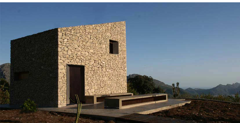 Refugio en La Vall de Laguar - Enproyecto Arquitectura