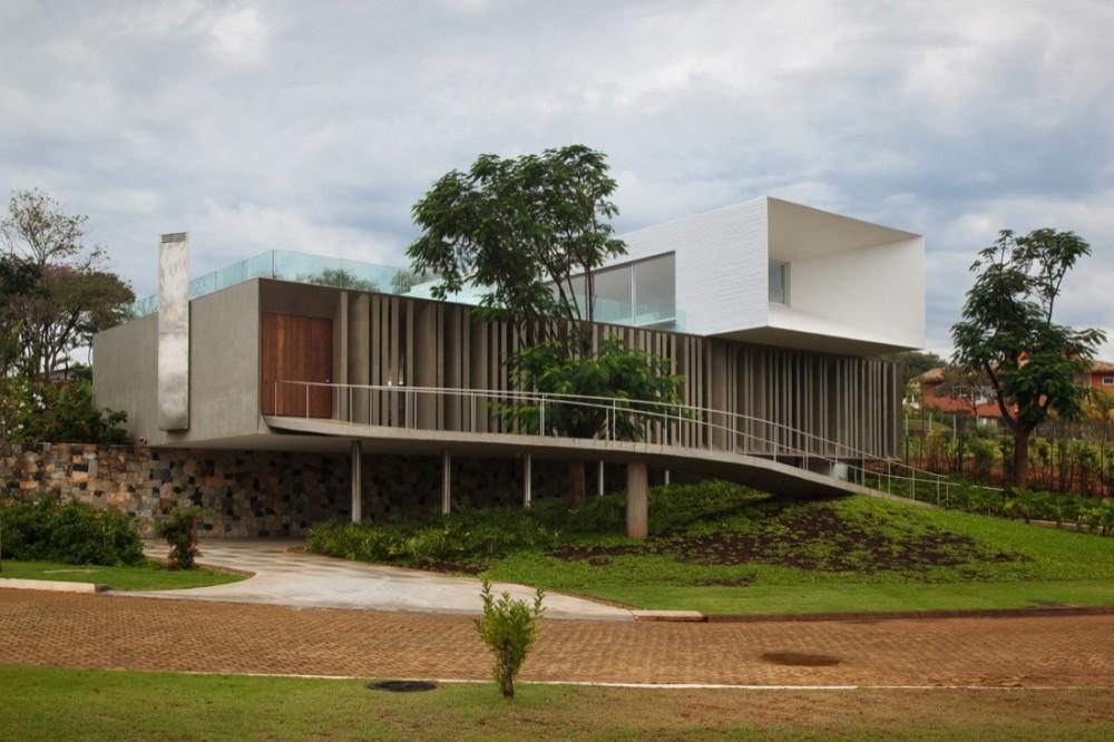 Casa Piracicaba - Isay Weinfeld, Arquitectura, casas, diseño