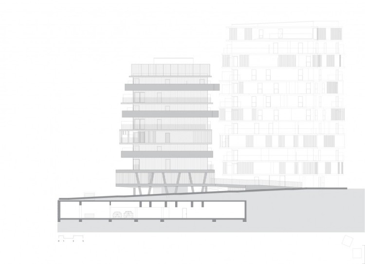 Departamentos en Villiot-Rappée - Hamonic + Masson