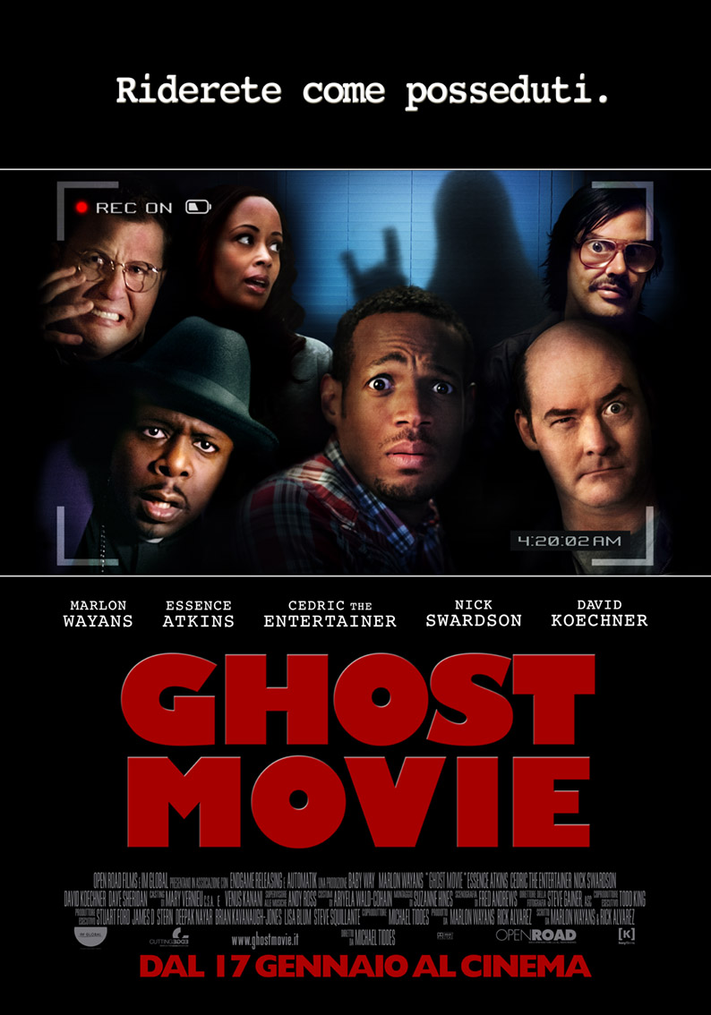 Ghost Movie Locandina