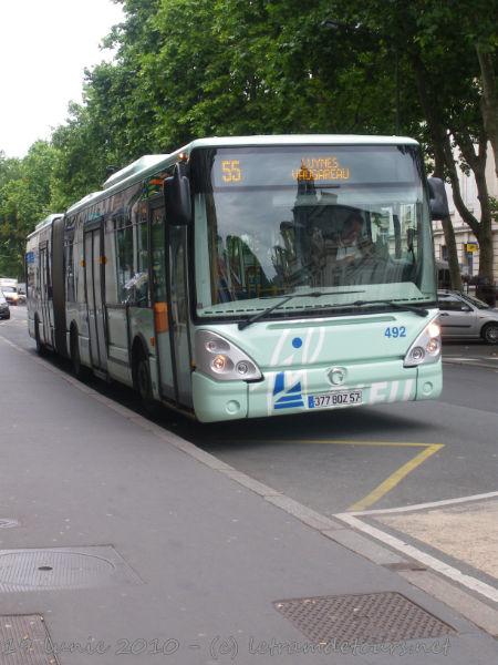 Présentation des bus 492%20Irisbus%20Citelis%2018%20Le%2019%20juin%202010%20(16)