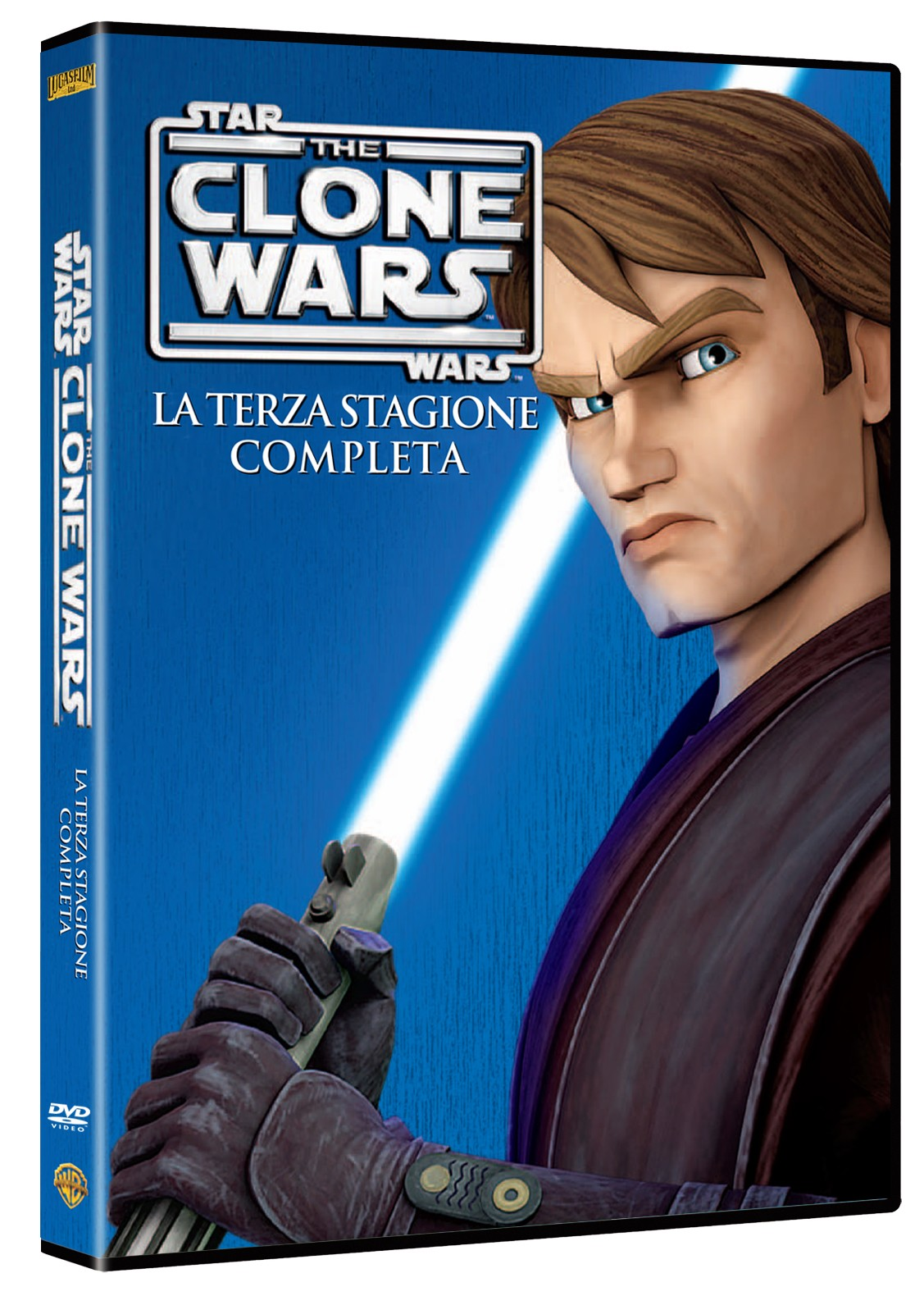 Star wars clone wars stagione 3 dvd
