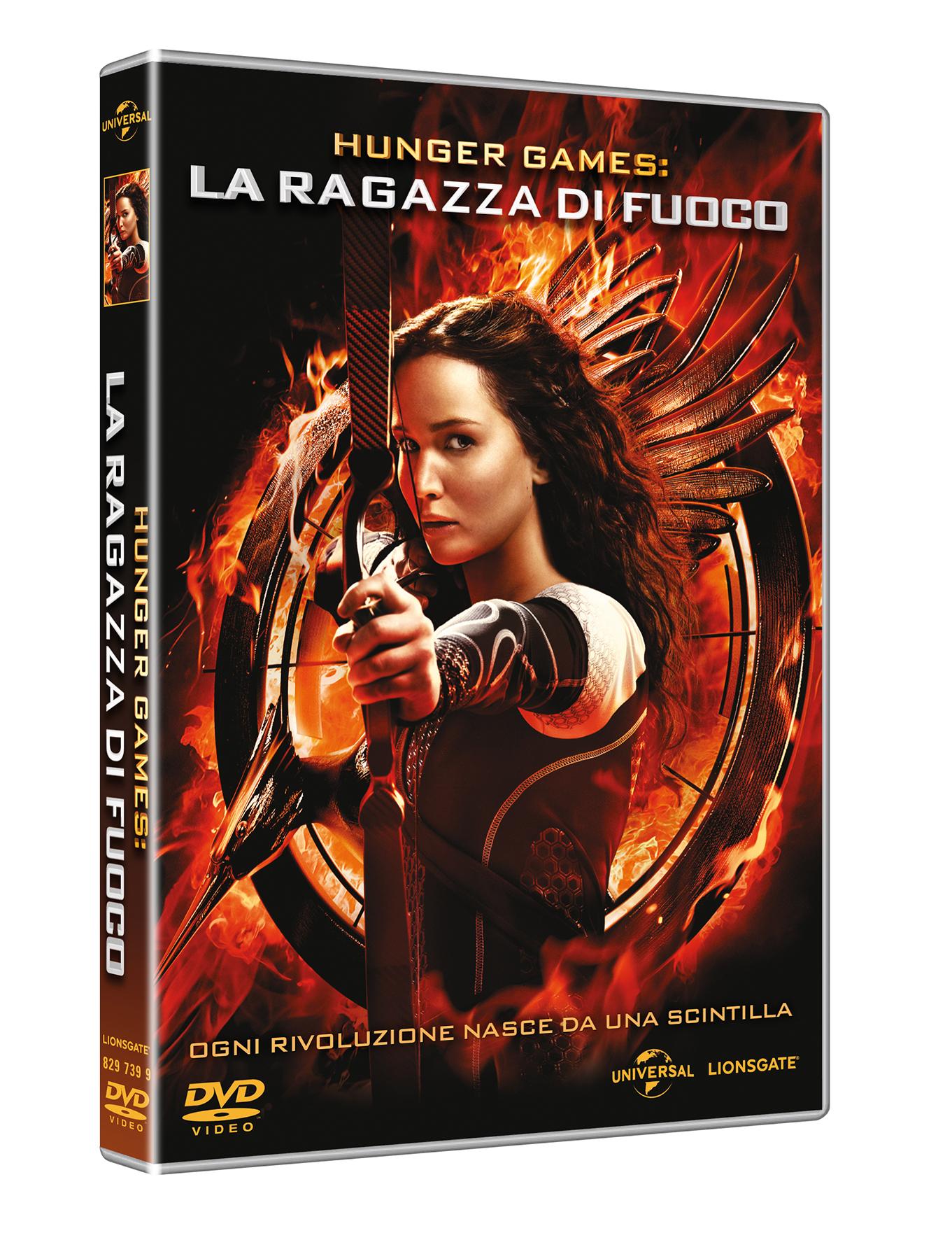 hunger games ragazza di fuoco dvd cover