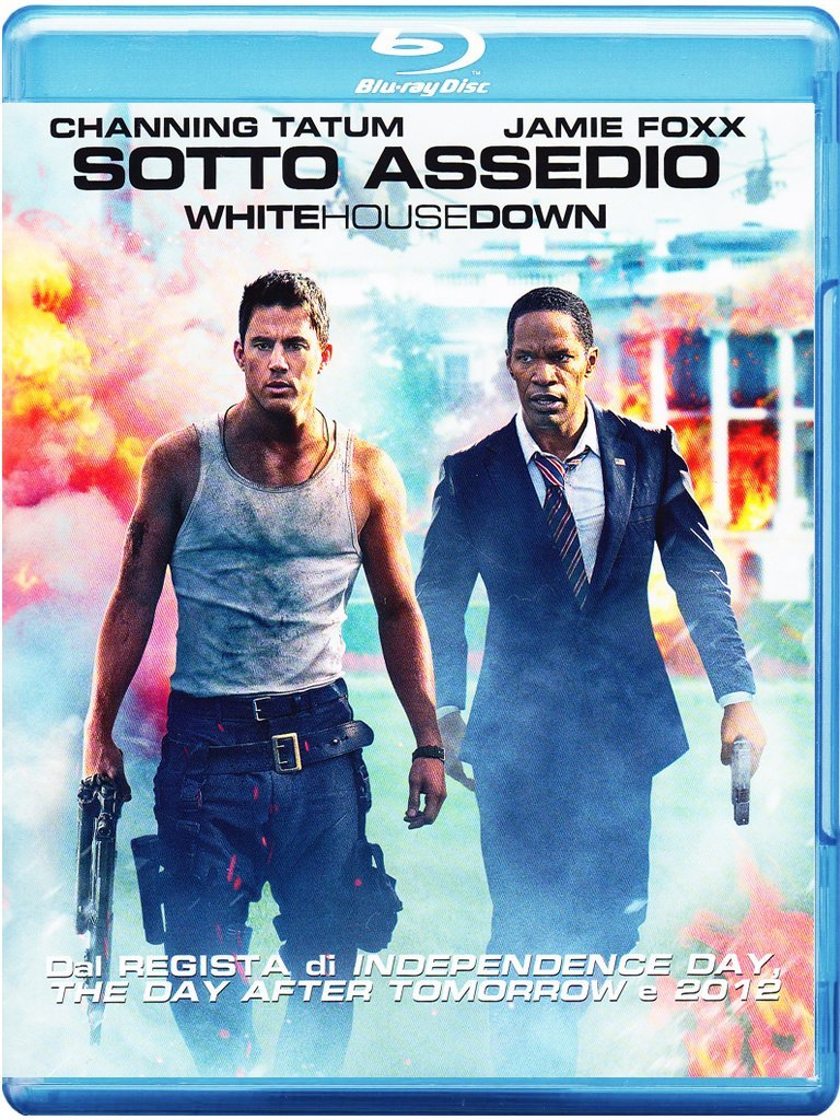 sotto assedio white house down blu-ray
