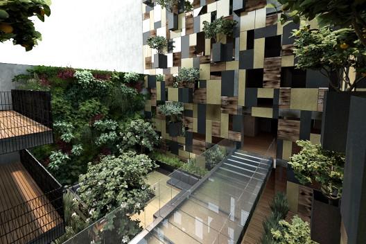 Edificio de Departamentos Goldsmith - Pascal Arquitectos, Arquitectura, diseño, casas