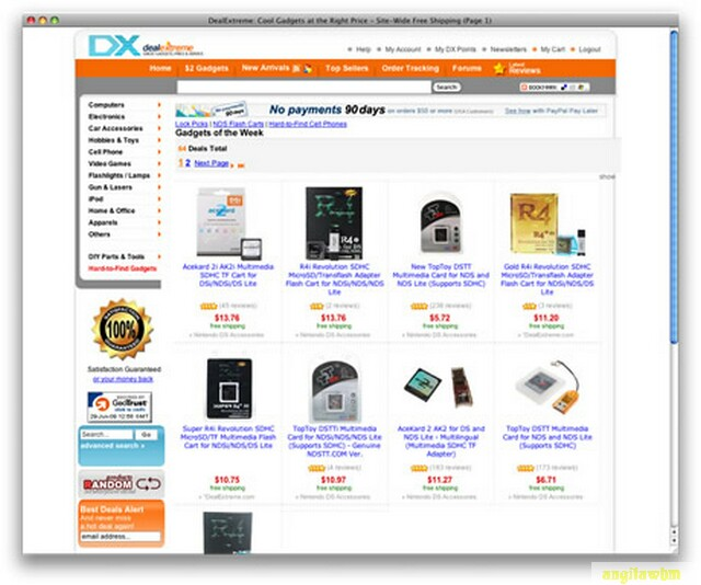 screen1 049 Páginas web para comprar barato en CHINA
