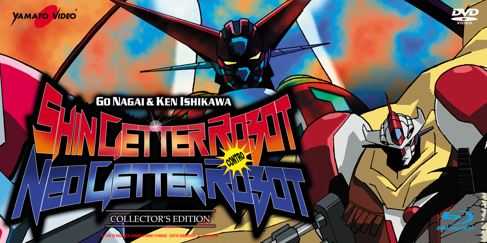 Shin Getter Robot Contro Neo Getter Robot