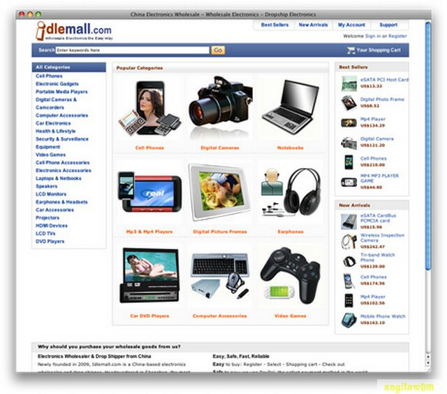 screen1 044 Páginas web para comprar barato en CHINA