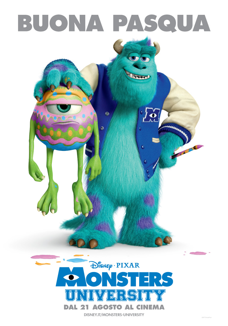 monster university buona poasqua happy easter