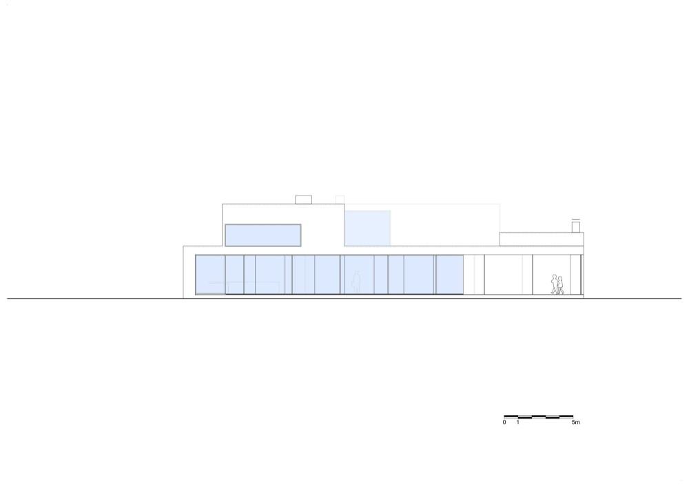 Villa VH en T - Beel & Achtergael Architecten, Arquitectura, casas, diseño