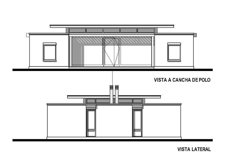 Casa en Club de Campo Pingüinos - Lacroze Miguens Prati - arquitectos