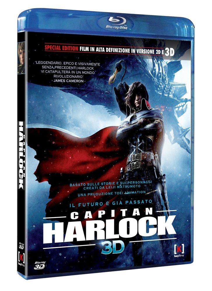 capitan harlock blu-ray 3d