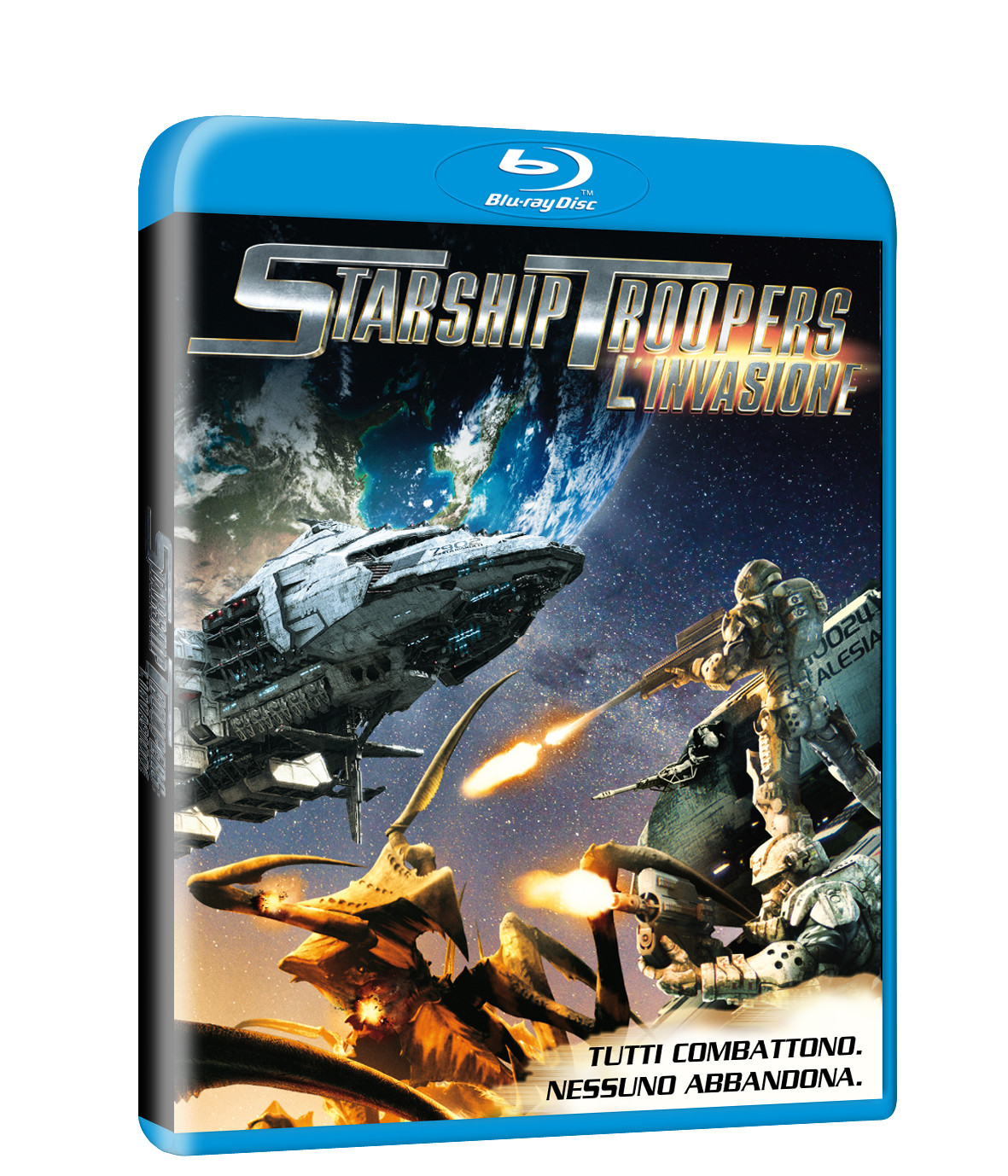 Starship troopers invasione blu-ray