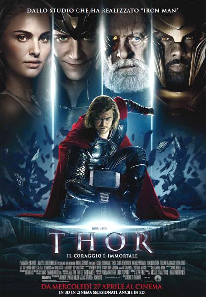 Thor film locandina recensione