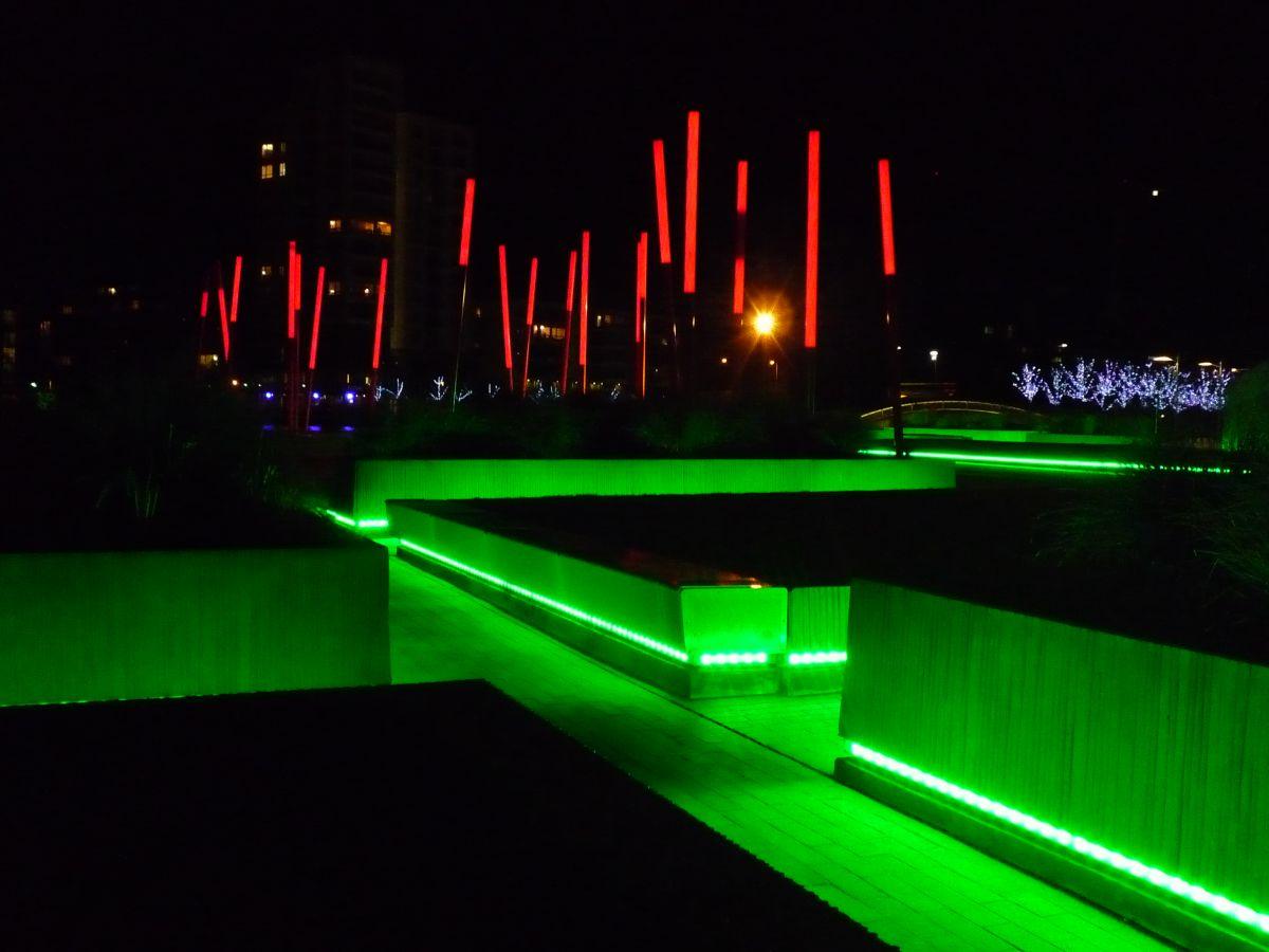 Arquitectura Paisajista, Grand Canal Square, Martha Schwartz Partners, diseño