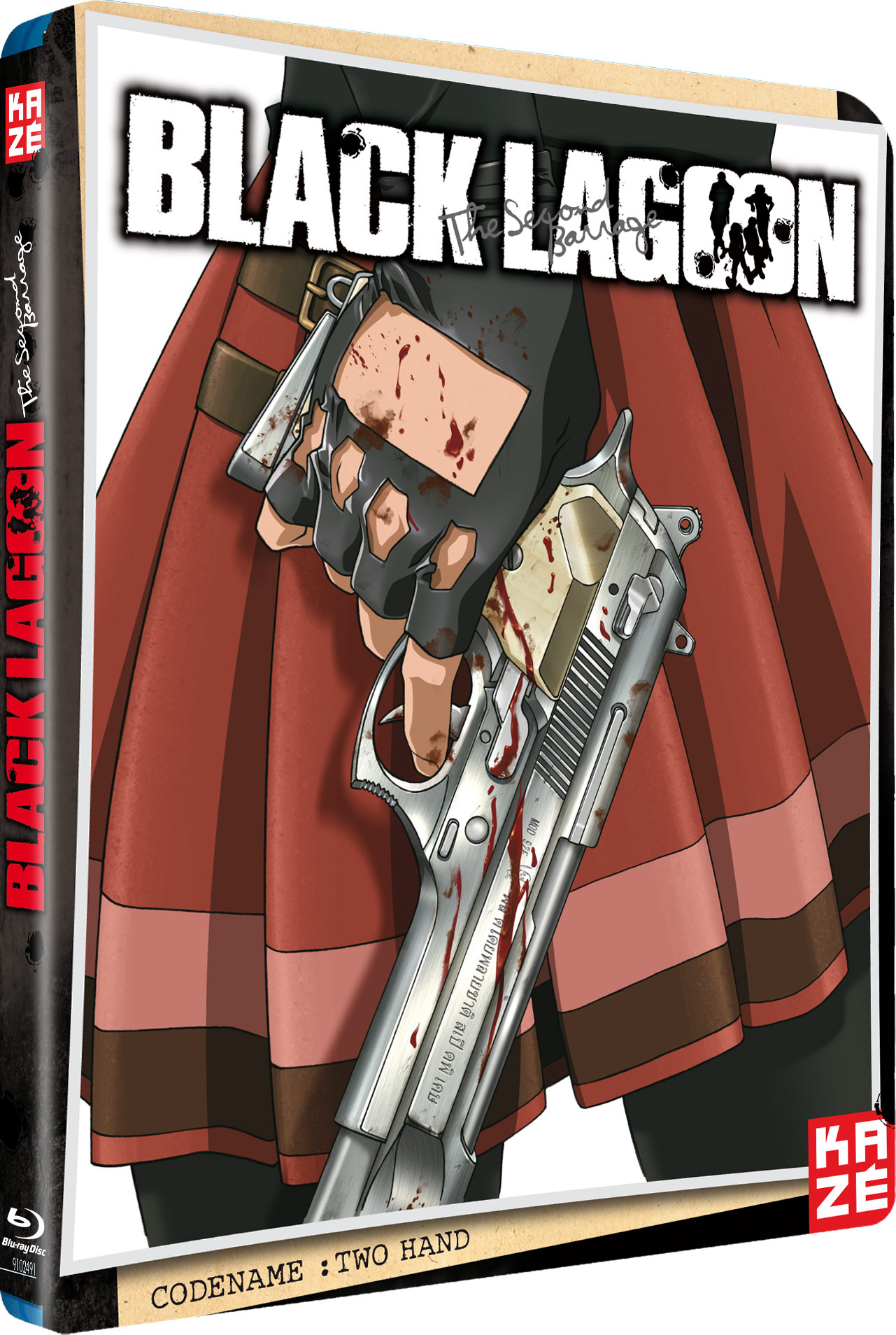 Black Lagoon Serie 2 Blu-Ray Kazè