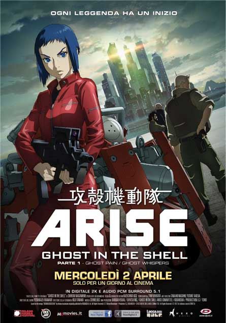 ghost in the shell arise poster