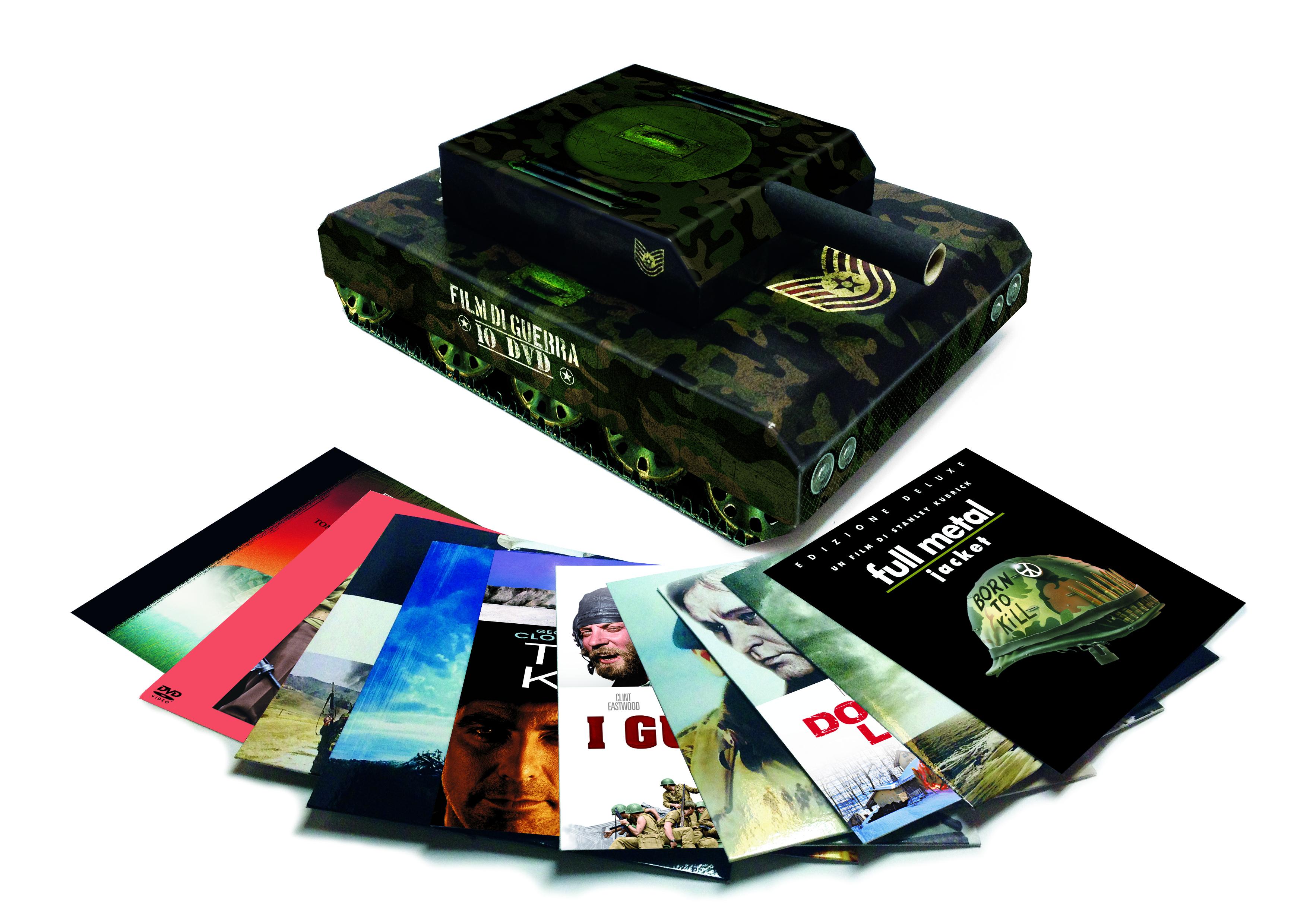 Collezione film di guerra carro armato warner