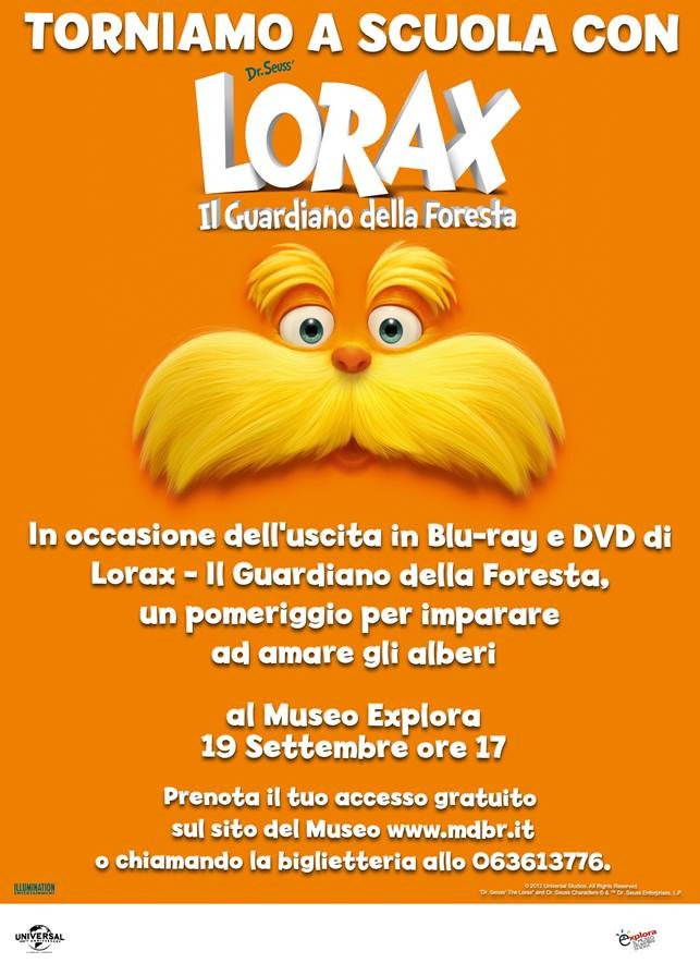 Lorax comunicato roma settembre
