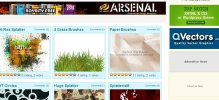 ハイクオリティなブラシを集めたサイト