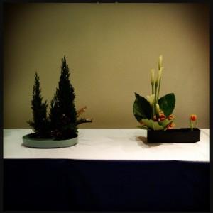 un ikebana per natale