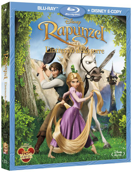Rapunzel cover Blu-Ray