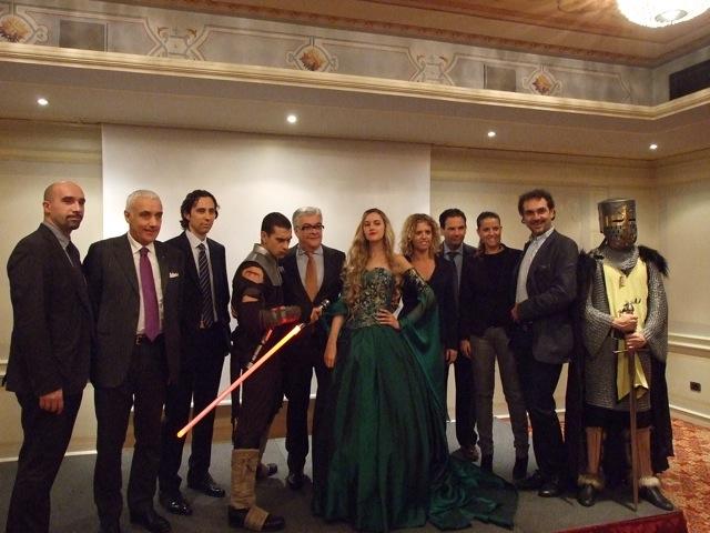 Foto di gruppo degli organizzatori del Florence Fantastic Festival
