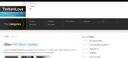 大量のテクスチャが無料で手に入るお役立ちサイト