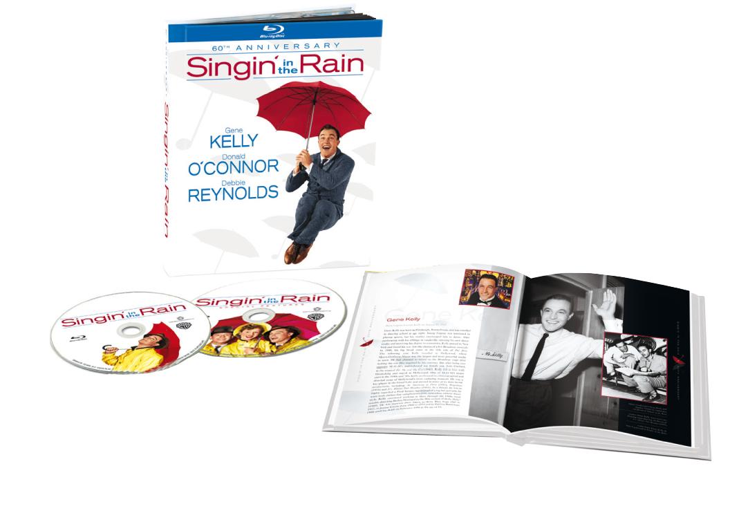 Cantando sotto la pioggia blu-ray digi book